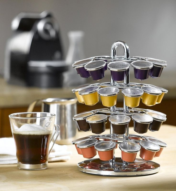 Nifty Nespresso® Coffee Carousel  The Nifty Carousel for Nespresso elegantly displays your Nespresso Coffee Capsules. The carousel makes choosing your favorite Nespresso flavor easy and convenient. For more visit us at cafena.com or visit the link in our bio ( @cafena_me ) for direct access.   #Coffee #DrinkCoffee #Qualitycoffee #Coffeedisplay #Coffeecup #Cup #Arabiancoffee #home #drink #drinkoftheday #coffeedrink #bestdrink #coffeholic #coffeelover #coffebreak #coffeehouse #health…