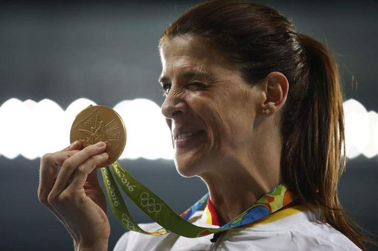 Ruth Beitia - medalla de oro en salto de altura