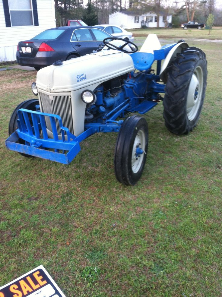 Ford 600 Tractor Farm : Ford old tractors s pinterest