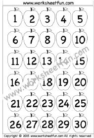 63 best Number Chart images on Pinterest   Number chart ...
