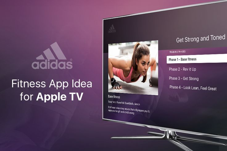 "查看此 @Behance 项目:""Apple TV Fitness App""https://www.behance.net/gallery/35162235/Apple-TV-Fitness-App"