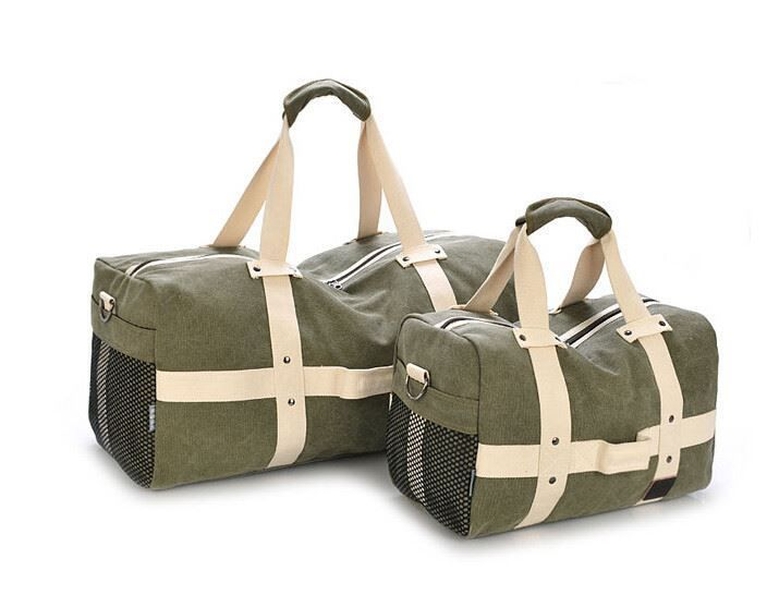 2017 Men Travel Bags Large Capacity Canvas Travel Handbags Trip Folding Bags