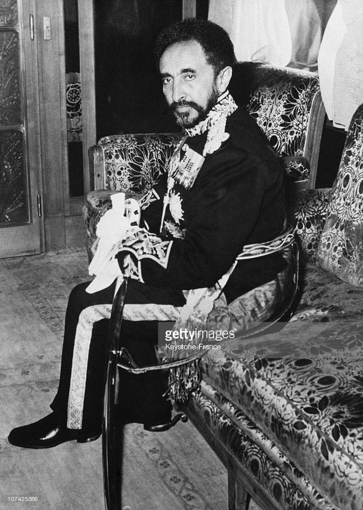 Haile Selassie At Addis Abeba In Ethiopia