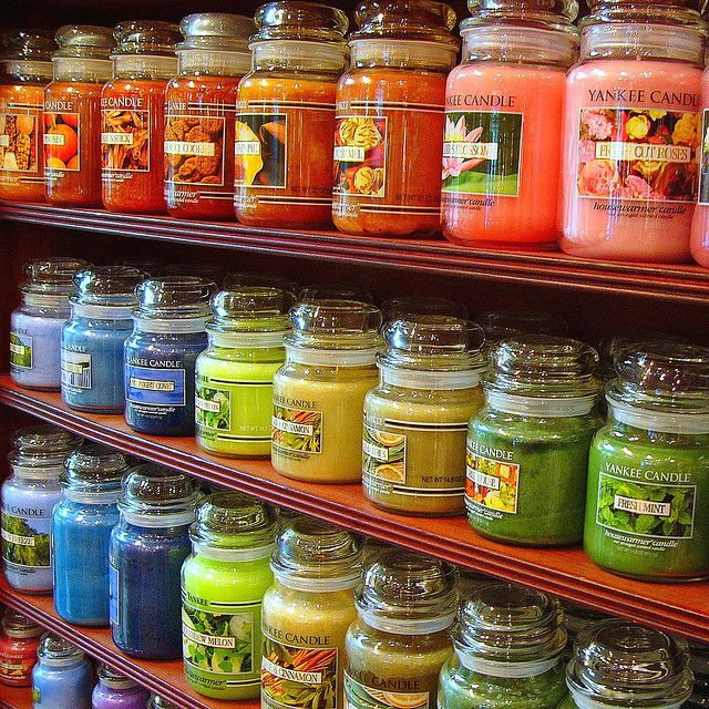 Yankee Candles I want a load of them! They come in the most amazing fragrances!!