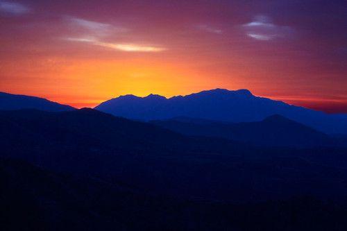 Sunset, Costa del Sol, Andalusia, Spain Photo: Aleksandar Mazzora