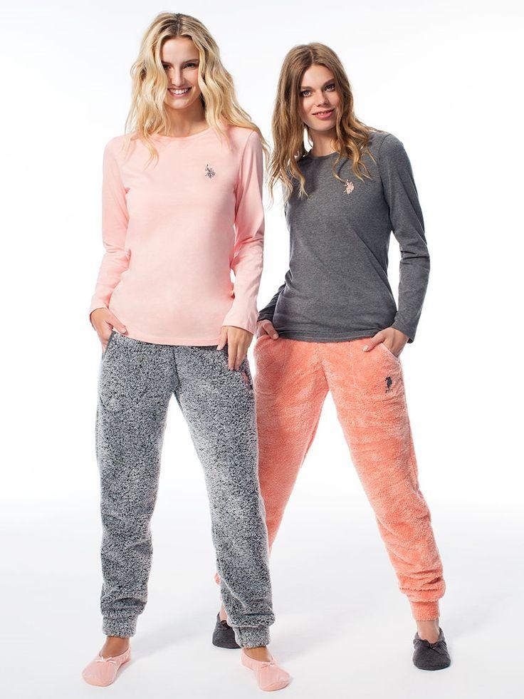 US Polo 15540 Bayan Pijama Takım | Mark-ha.com #markhacom #pijama #fashion #newseason #moda #trend #yenisezon #uspolo