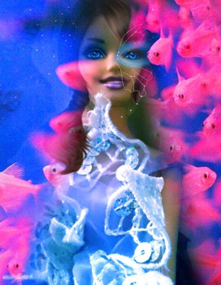 Barbie at sea by Annabellerockz