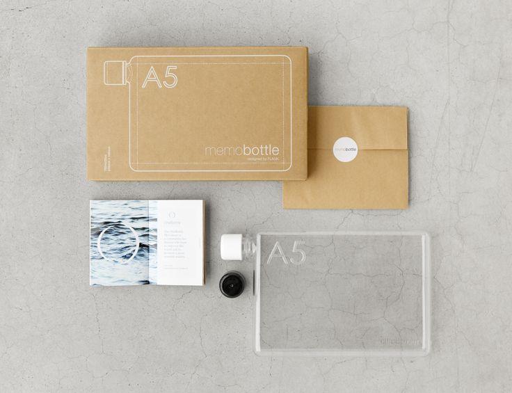 memobottle A5, snyggt förpackad.  Finns att köpa hos www.naboinsweden.se #packagedesign #förpackningsdesign