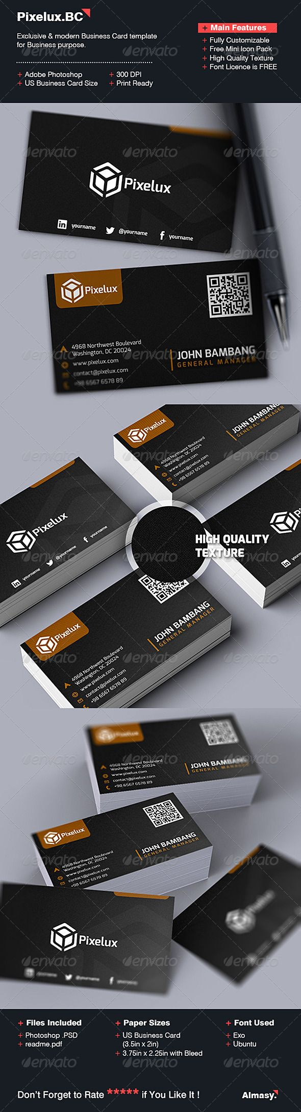 1746 best photography business card images on pinterest simple business card 01 reheart Gallery