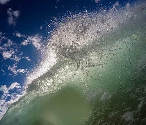 Then it all came crashing down. So stoked about getting back in the water. It has been too long. #surf #waves #endlesssummer #summer #gopro #milkyway #universe #stars #barrel #narrabeen #love