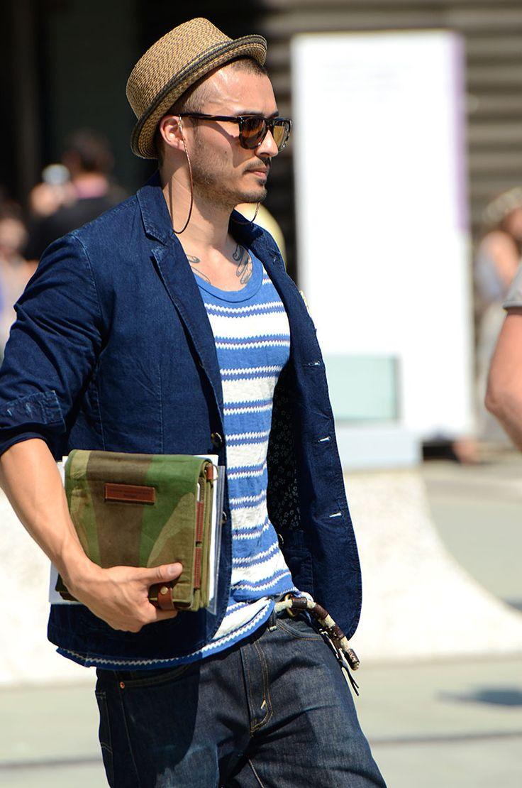 Apuesta por un sombrero con mucho estilo para los días de mucho sol.  #moda #hombre #sombrero #estilo #streetstyle #primavera