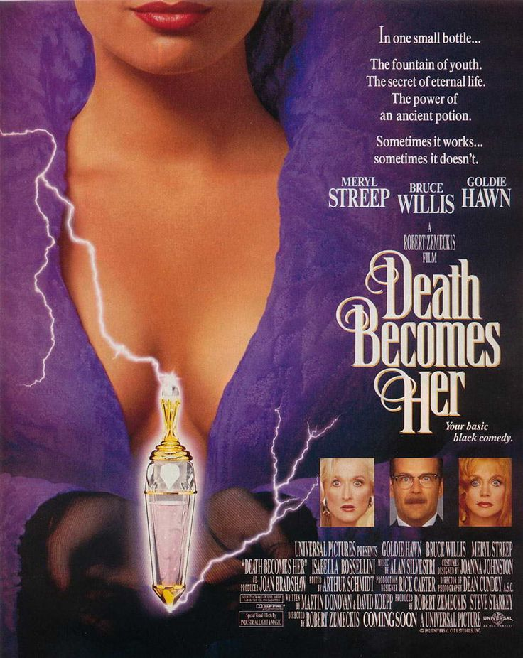 Death Becomes Her, 1992 | Movie posters | Pinterest