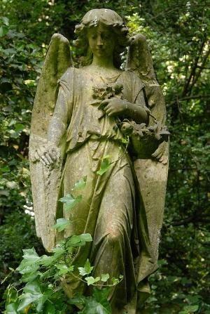 Highgate Cemetery-West London by Hercio Dias