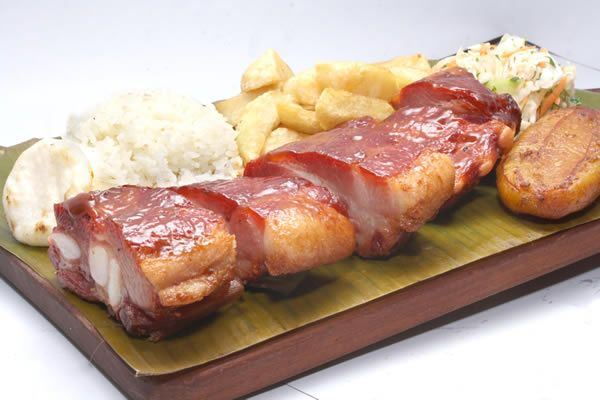 COSTILLA AHUMADA #Gastronomia #Cali