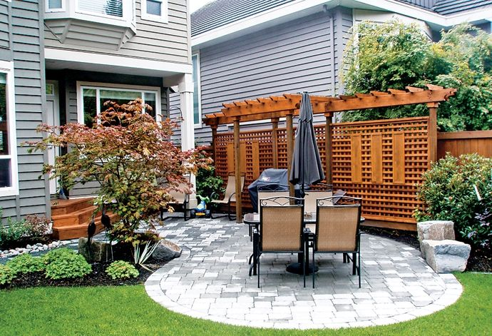 Diy patios on a budget recipes healthy living home for Garden makeover ideas