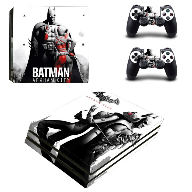 >> Click to Buy << DC Batman Arkham City PS4 Pro Skin Sticker Decal For Sony PS4 PlayStation 4 Pro Console and 2 Controllers Stickers  #Affiliate