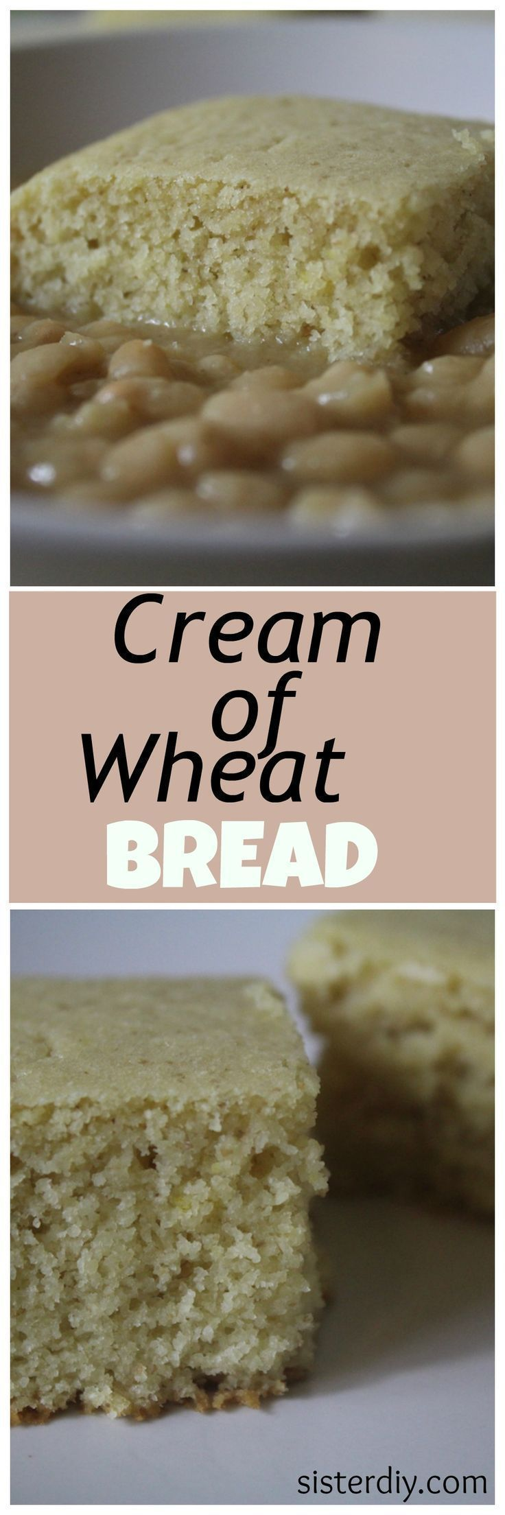 A delicious and healthy alternative to corn bread. This cream of wheat bread is incredible.