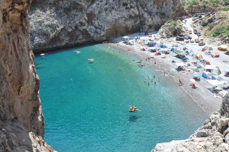 Beach Vithouri, Evia, Greece