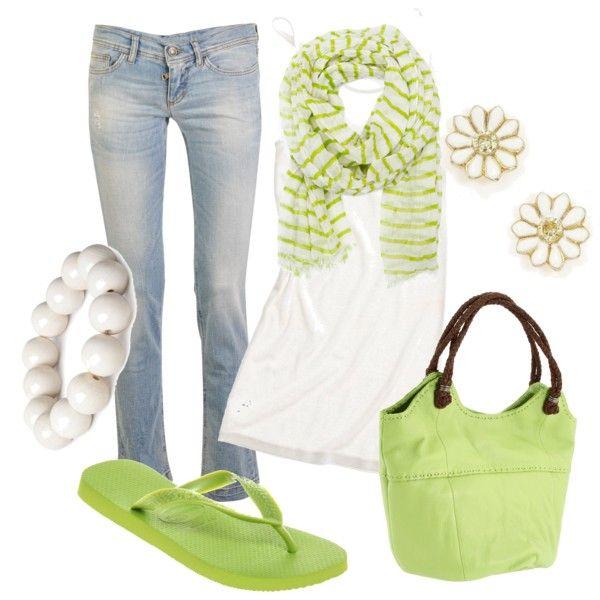 Pops Of Lime Green :)