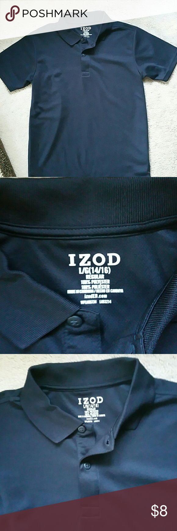 Boy's Izod Navy blue shirt..Brand new Boy's Navy blue uniform style polo.. brand new never wore Izod Shirts & Tops Polos