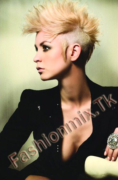 Asian girl mohawk
