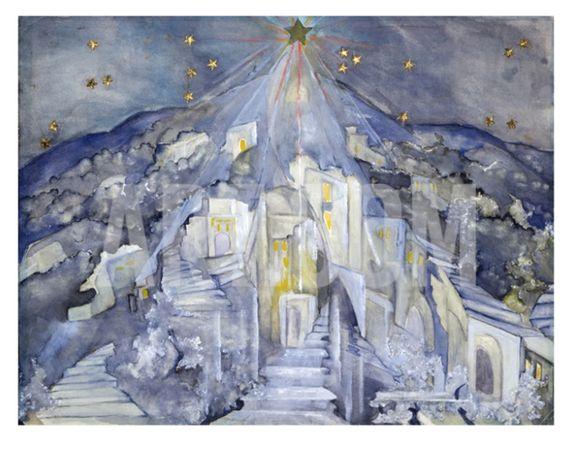 Zelda Fitzgerald's painting Star of Bethlehem
