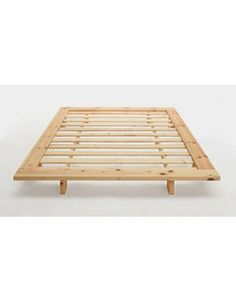 Image result for minimalist bed frame | BOFA - Minimalist Solid Wood Bed Frames and Storage | Pinterest