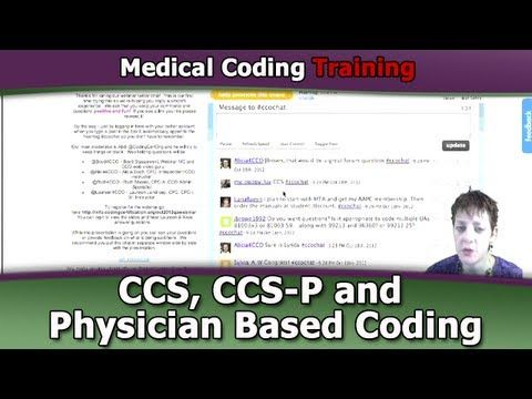 Medical Coding Course Physician-Based for CCS, CCS-P Exam - YouTube