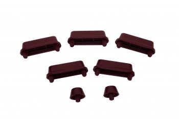 #Toilet Seat Fitting Maroon Plastic Replacement #Bumpers 7 ct # 16174 Shop --> http://www.rensup.com/Toilet-Seat-Fittings/Toilet-Seat-Fittings-Maroon-Plastic-Replacement-Toilet-Seat-Bumpers-Maroon-pack-7/pd/16174.htm?CFID=1587865&CFTOKEN=2a28f9847ca44ec1-30CCC3CE-DD7B-9AF9-A63BB33CD9974297