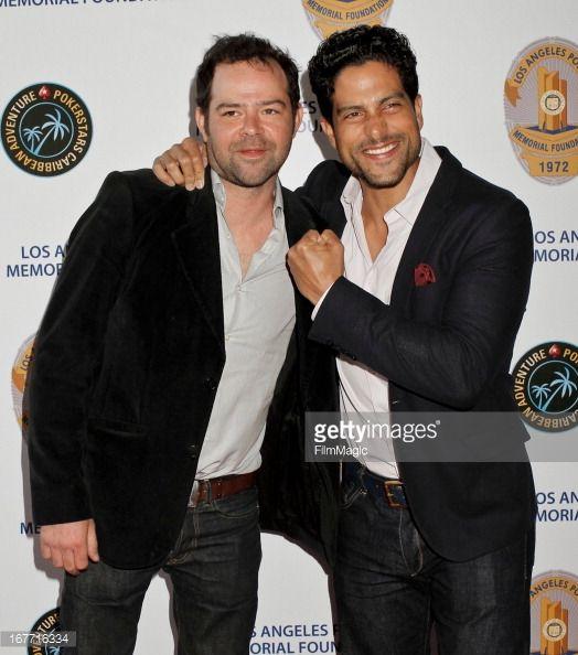 rory k. cochrane | Rory Cochrane and Adam Rodriguez attend the Los Angeles Police ...