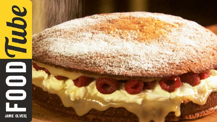 This classic sponge cake recipe is so versatile and dead easy to remember. It's great for birthday cakes, party cakes and cup cakes. In this video Jamie show...
