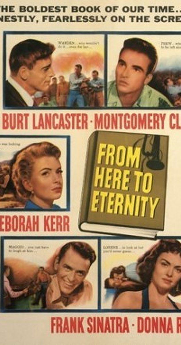 Directed by Fred Zinnemann. With Burt Lancaster, Montgomery Clift, Deborah Kerr, Donna Reed. In Hawaii in 1941, a private is cruelly…
