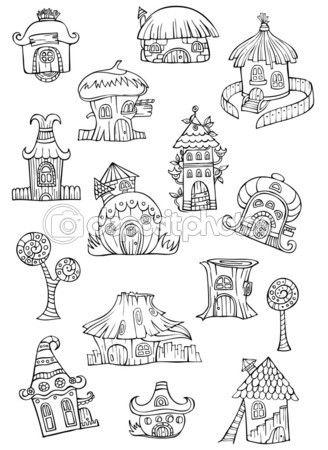 how to draw a fairy on a mushroom