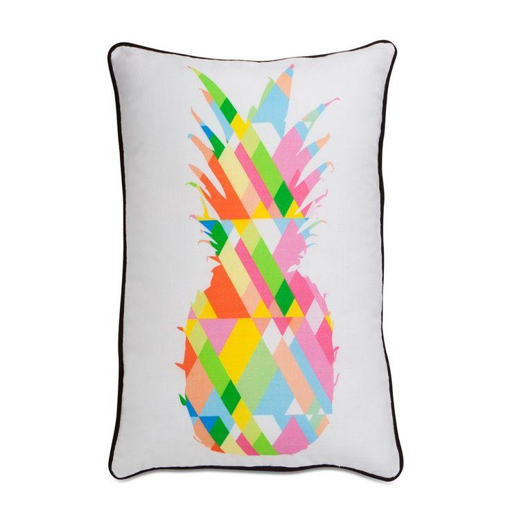Acid Pastel Pineapple Cushion 60x40cm