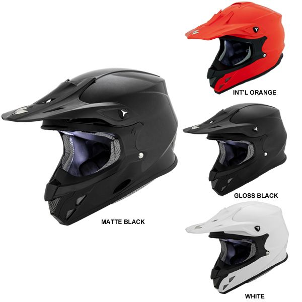 Scorpion VX-34 Solid MX Dirt Off Road Helmets