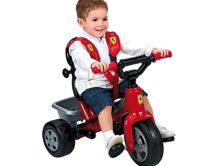 TRICICLO FEBER - TRICICLO FERRARI - TRICICLO FERRARI FEBER, IndalChess.com Tienda de juguetes online y juegos de jardin
