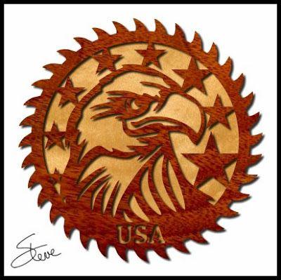 Usa Eagle Saw Blade Free Scroll Saw Pattern Scroll Saw