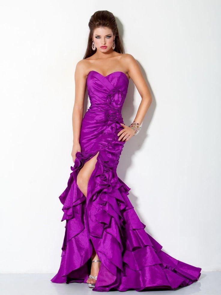 Mejores 36 imágenes de Vestidos de noche!! en Pinterest   Vestidos ...