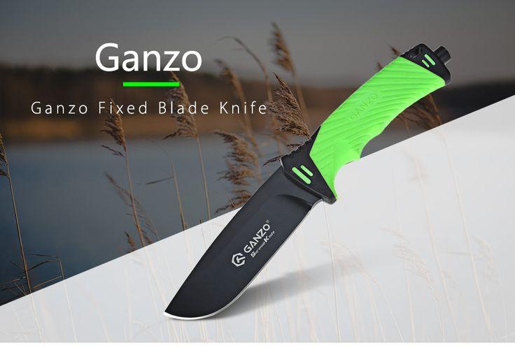 GANZO G8012, le premier couteau à lame fixe de Ganzo au prix de 17.18€ (une perle!)