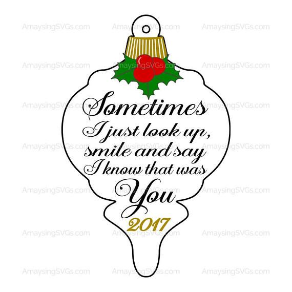 Svg Christmas Memorial Svg Instant Download A New Memorial Ornament Quote Perfect For The Christmas Season Christmas Svg Memorial Ornaments Christmas Magic