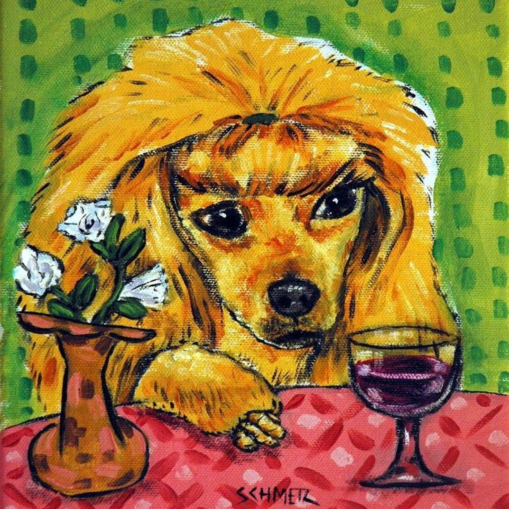 44 best Poodle images on Pinterest | Art impressions, Art prints and ...