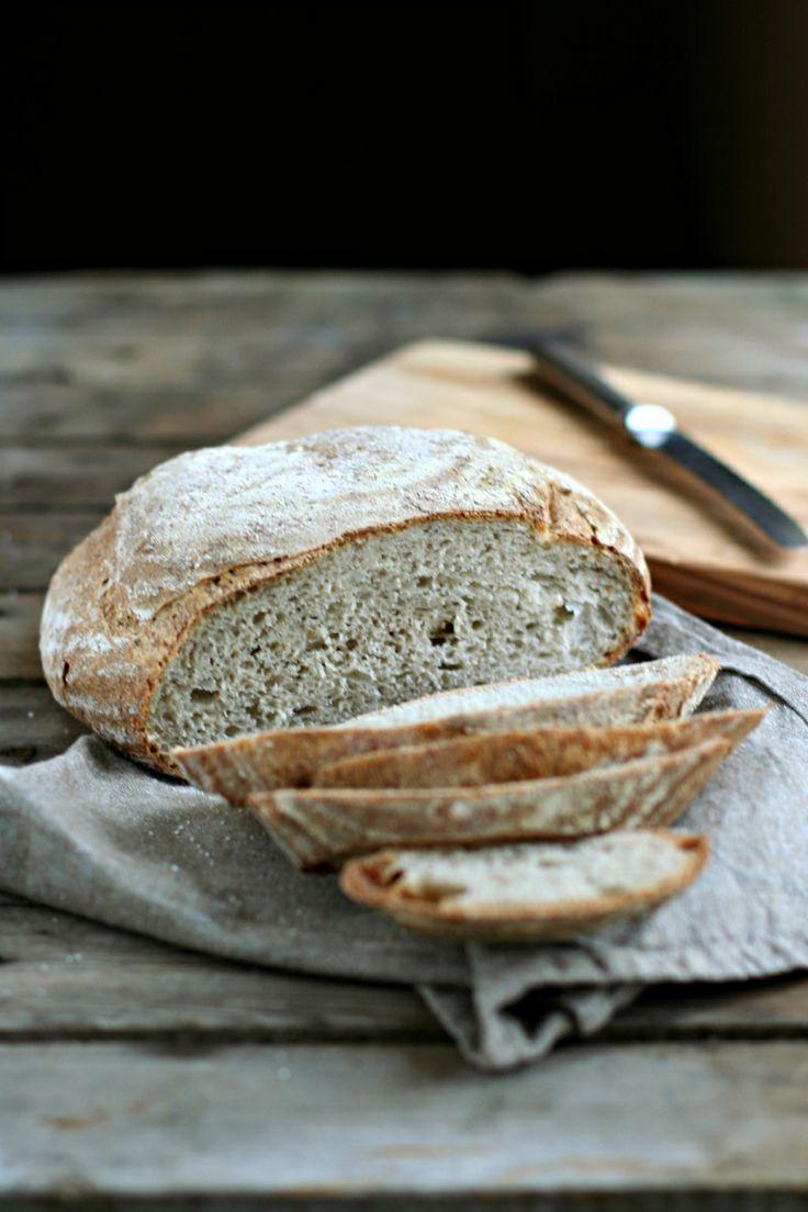 Pagnotta di grano saraceno a lievitazione mista.