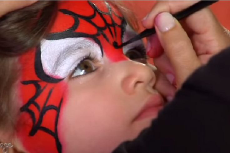 Comment faire un maquillage facile de Spiderman!