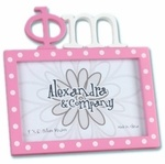Phi Mu LETTER PICTURE FRAME