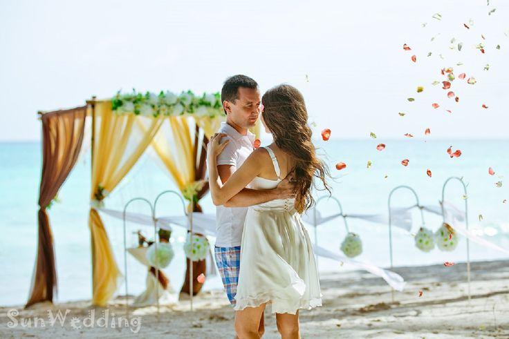 первый танец на свадьбе в Доминикане