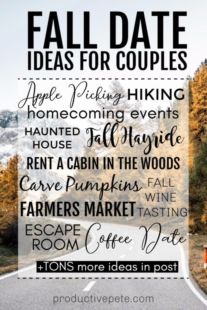 Halloween 2020 Rent Date Adventurous to Cozy Fall Date Ideas for Couples in 2020 | Fall