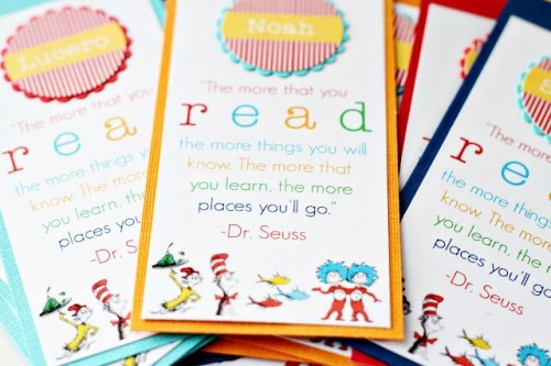 Oh, the Places You'll Go! Bookmark (can also be used for Graduation gifts