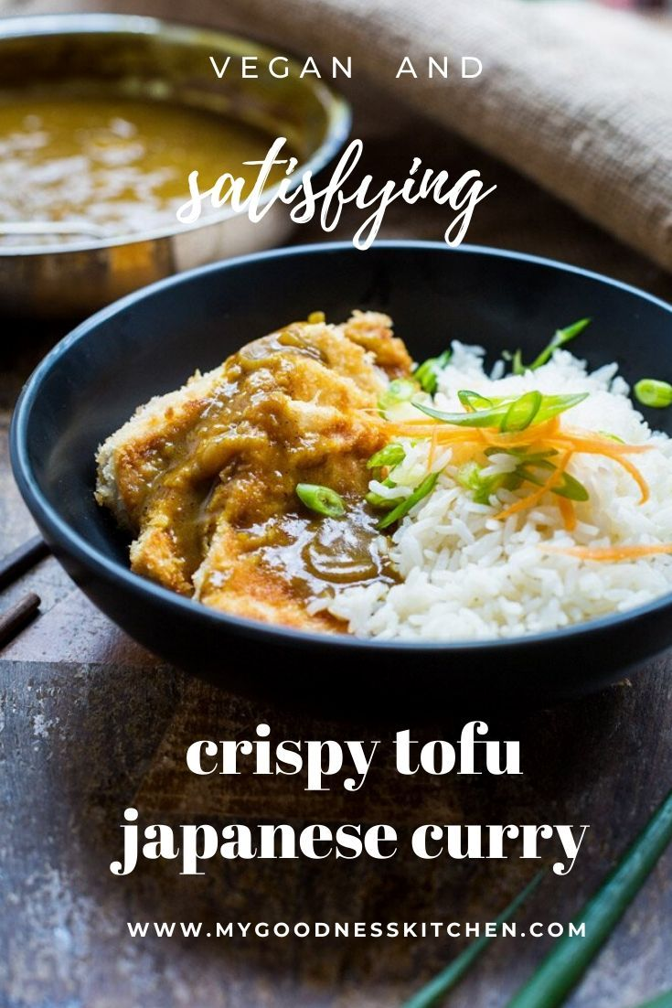 Japanese Tofu Curry Recipe In 2020 Tofu Curry Veggie Recipes Tofu Recipes Vegan