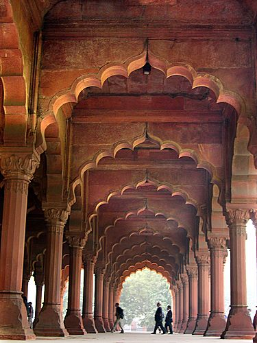 Red Fort, Delhi. The fort in the capital of India. Travel to incredible india, plan a trip today!