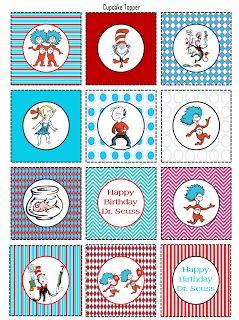 Scrap N Teach Dr Seuss printables FREE